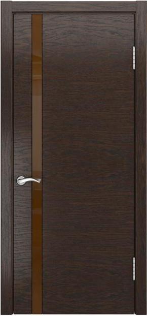 Межкомнатная дверь Арт-3 (лакобель)