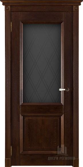 Межкомнатная дверь из массива дуба Афина (стекло)