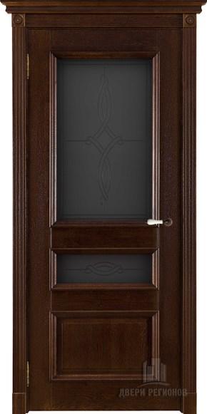 Межкомнатная дверь из массива дуба Афродита (стекло)
