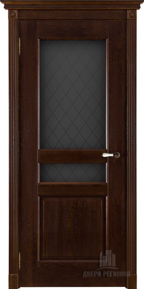 Межкомнатная дверь из массива дуба Виктория (стекло)