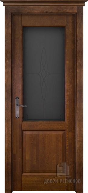 Межкомнатная дверь из массива ольхи Европа (стекло)