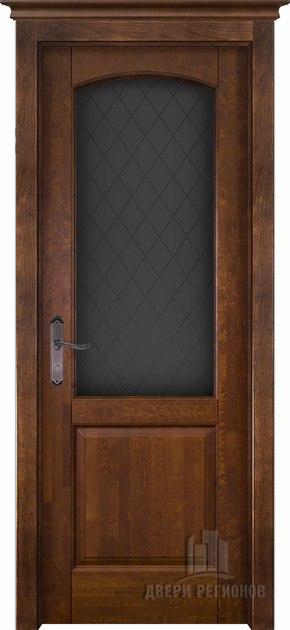 Межкомнатная дверь из массива ольхи Фоборг (стекло)