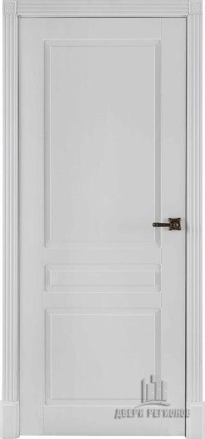 Межкомнатная дверь Прага - эмаль белая