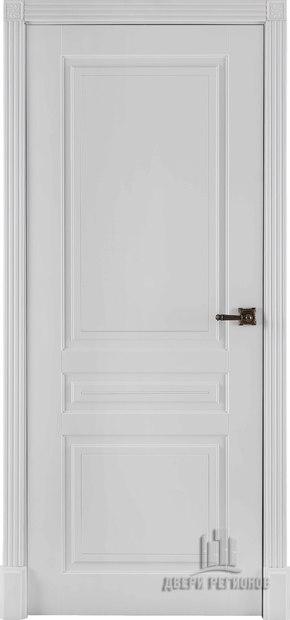 Межкомнатная дверь Турин - эмаль белая