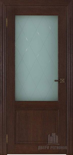 Межкомнатная дверь 40004 - дуб французский (стекло)
