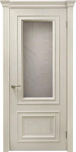 Межкомнатная дверь Венера (дуб карамель) - стекло