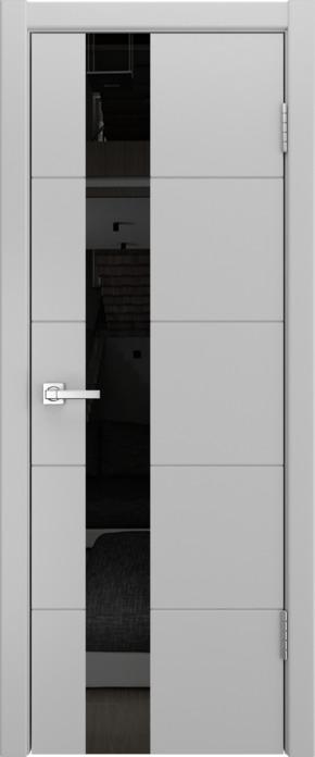 Межкомнатная дверь Модель A-2 (стекло граффит) эмаль Манхеттен