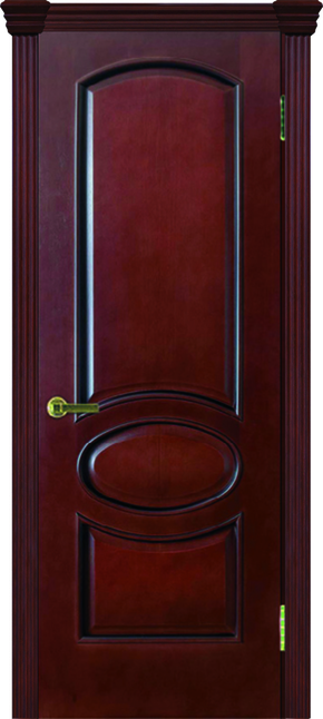 Межкомнатная дверь Жемчужина-2 (глухая) - анегри шоколад