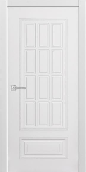 Межкомнатная дверь Карина 28 эмаль белая (глухая)