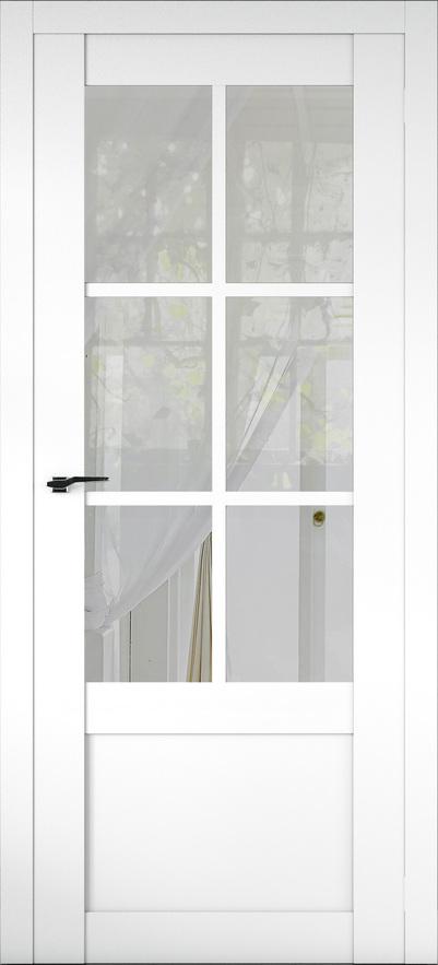Межкомнатная дверь Соbalt 21 (стекло Рефлект)