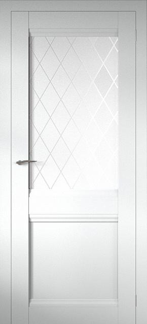 Межкомнатная дверь Соbalt 12 (стекло Ромб)