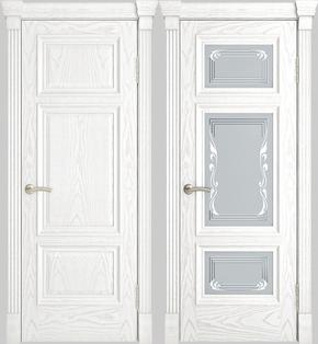 Межкомнатная дверь Грация (альба) - глухая