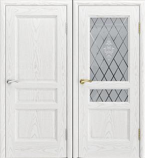 Межкомнатная дверь Джаз - стекло