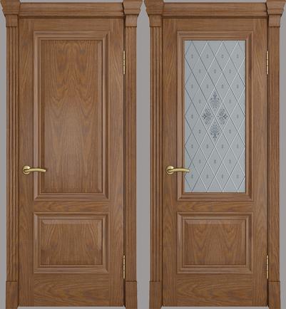Межкомнатная дверь Элегант - стекло